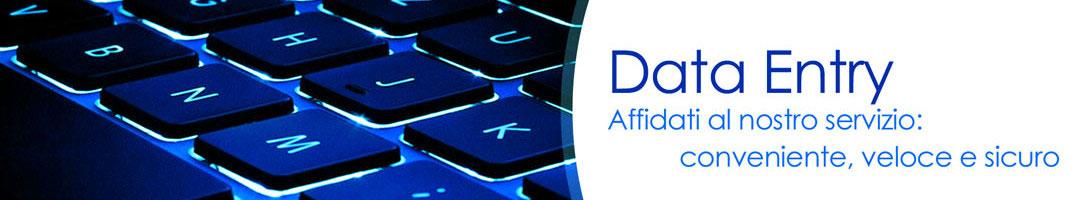 Servizio di Data Entry - Inserimento dati manuale o elettronico